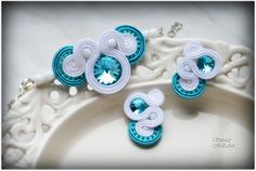 #sutasz #soutache #ślub #ślubnedodatki  #biel #miliart #sutaszmili #rękodzieło #handmade #biżuteria #jewelery https://www.facebook.com/SutaszMili