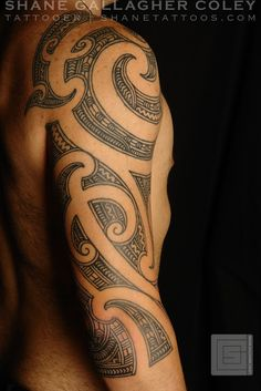 maori tattoos artist in london Koru Tattoo, Ta Moko Tattoo, Type Tattoo, Samoan Tattoo, Polynesian Tattoos, Hawaii Tattoos, Tribal Tattoos, Tribal Shoulder Tattoos, Black Tattoos