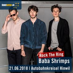 Baba Shrimps gastieren am 21.6.18 am Rock The Ring in Hinwil. Tickets: http://www.ticketcorner.ch/rock-the-ring