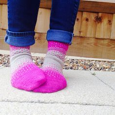 There & Back Again Socks pattern by Dawn Cottone, knit by aneelahoey
