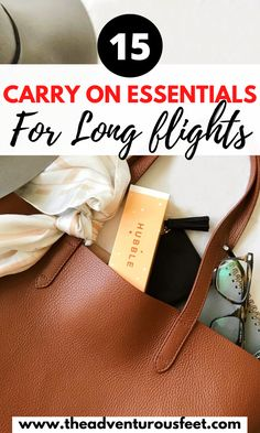 Going for a long flight soon? Make sure to pack these carry on essentials for long haul flights to have an amazing time during your flight. Carry On Bag Essentials, Carry On Packing, Packing Tips For Travel, Travel Essentials, Travel Advise, Travel Checklist, Packing Lists, Travel Hacks, Travel Ideas