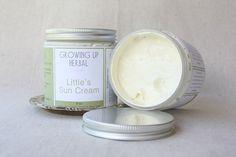 Children's Sun Cream - Natural Sun Care - Organic - Wildcrafted - Herbal - 8 oz  @BryanandLaurel Patton  .   Possibility???