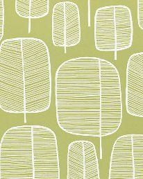 Tapet Little Trees Moss från MissPrint