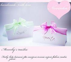 ArtStore / Menovky s mašľou na svadbu