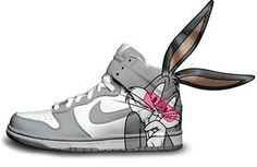quality design d185f c0e01 bugs-bunny-nike-dunks-high Nike Cartoon, Sneakers Nike, Shoes