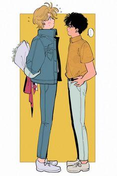 Fanarts Anime, Manga Anime, Anime Art, Manhwa, Chino Anime, Flowey Undertale, Banana Art, Animes On, Fish Wallpaper