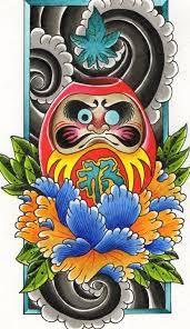 japanese daruma tattoo - Google Search