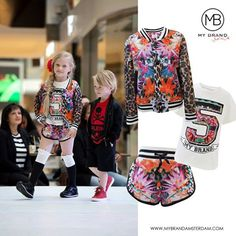 How cute is this?? Coccinelle Fashion Stores organized a Kids Fashion show! We spotted this girl in a complete MY BRAND Junior outfit! heart-emoticon