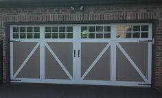 Image result for double carriage garage door