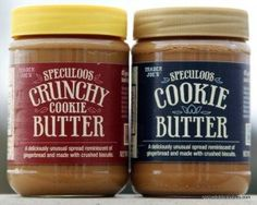 Everything you ever wanted to know about #traderjoes #speculoos #cookiebutter speculoos cookie butter is the best!