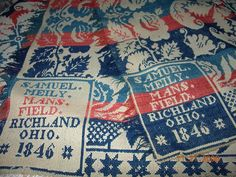 Shelby area Coverlets and Weavers Museum  I think I have one of these from 1830