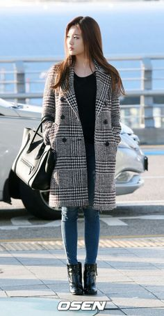 Coat add to a casual look T's and jeans