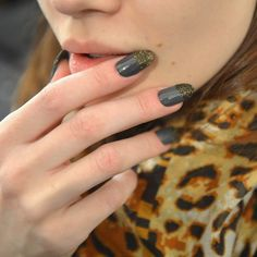 2013 Fall New York Fashion Week Nail Art & Beauty Trends