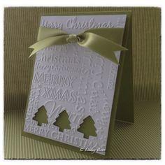 CAS card, Christmas card, Stampin Up