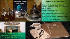 Matías y yo organizamos con mucha ilusión este encuentro poético, y esperamos que sea una tarde estupenda para todos vosotros. Koroa Batekin, poeta.  https://www.facebook.com/events/1159027670793057/