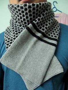 beautiful scarf for men: knitting tutorial | make handmade, crochet, craft