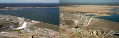 California's Drought: A Shocking Photo And Other Updates  Images of Folsom Lake, a reservoir in Northern California, show the severity of the state's drought. The photo at left, taken on July 20, 20...