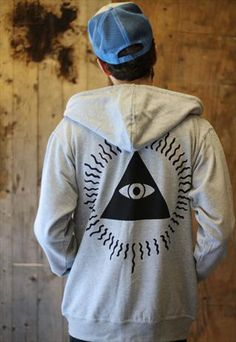 Illuminati Zip Hoodie #piel #shoppiel #inspiration