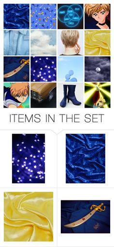 """Sailor Uranus // Haruka Tenou"" by amarie104 ❤ liked on Polyvore featuring art"