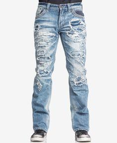 Affliction Men s Blake Fleur Relaxed Denim Chicago Wash Jeans Men - Jeans -  Macy s cf1101d31d