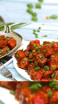 Tasty Vegetarian Recipes, Vegetarian Appetizers, Spicy Recipes, Snacks Recipes, Easy Recipes, Cooking Recipes, Chili Paneer Recipe, Chaat Recipe, Paneer Recipes