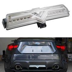 iJDMTOY OEM Fit LED Rear Bumper Backup Lamps w/ Clear Lens for Rear Fog Lights or Brake Lights For 2013-up Scion FR-S Subaru BRZ   iJDMTOY Sorted JDM Graphics Lanyard Gift * You can get additional details at the image link.