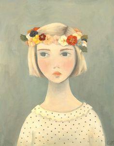 Original Painting : Primrose. Emily Winfield Martin via Etsy