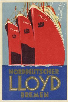 Vintage Cruise Poster