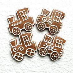 Gingerbread Cookies, Christmas Cookies, Sugar, Desserts, Yummy Yummy, Food, Art, Chip Cookies, Craft Art
