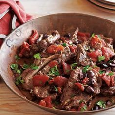 Braised Lamb Shoulder Chops with Tomatoes and Rosemary | Williams-Sonoma