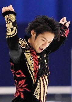 figure skating / Daisuke Takahashi SP/ 09 Japan Nationals   by teofrabio