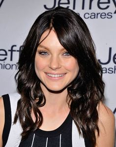 Jessica Stam's rich dark brown!