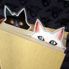 """literature is my utopia. Creative Bookmarks, Cute Bookmarks, Bookmark Craft, Creative Crafts, Fun Crafts, Paper Crafts, Homemade Bookmarks, Instruções Origami, Watercolor Bookmarks"