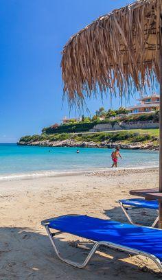 Loutraki beach in Chania, Crete
