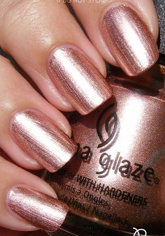 China Glaze - Poetic China Glaze Nail Lacquers #chinaglaze #OPI @opulentnails over 12,000 pins