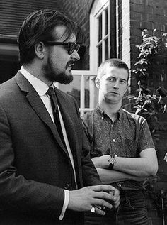 Giorgio Gomelsky with a young Eric Clapton