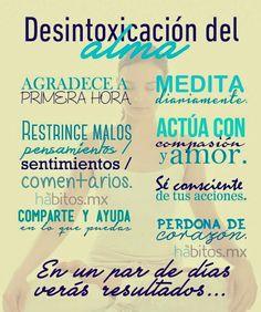Desintoxicación del alma