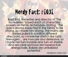"And that's why ""The Incredibles"" is one of my favorite Pixar movies of all time, folks. Disney And Dreamworks, Disney Pixar, Walt Disney, Disney Characters, Disney Facts, Disney Memes, Disney Love, Disney Magic, Disney Stuff"