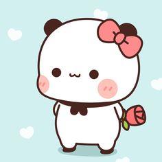 Cute Anime Cat, Cute Bunny Cartoon, Cute Cartoon Images, Manga Cute, Cute Love Cartoons, Cute Cartoon Wallpapers, Cute Panda Drawing, Cute Bear Drawings, Cute Animal Drawings Kawaii