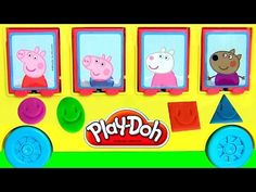 Peppa Pig Playhouse Lego Blocks Playground Park with See-Saw & Slide House Set by DisneyCollector - YouTube