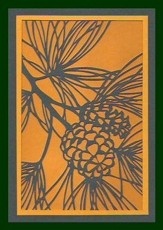 This is a paper cut that might be a great lino print.