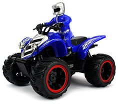 Velocity Toys ATV Road Racer Remote Control RC Car Rechargeable Big Size 110 Scale Ready To Run Colors May Vary * Details can be found by clicking on the image.Note:It is affiliate link to Amazon.