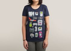 """""""A Pixel of My Childhood"""" by Melee_Ninja on women's t-shirts   Threadless"""