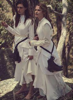 StyleAndMinimalism | Vogue Australia | March 2015 | Phoebe Tonkin & Teresa Palmer Photographed by Will Davidson