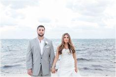 Mexico Destination Wedding - Cassandra Castaneda Photography - Beach - Grey Suit