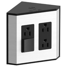 Found it at Wayfair - In-drawer Electrical Outlets for Kohler® Tailored Vanities Bathroom Vanity Drawers, Bathroom Faucets, Master Bathroom, Bathroom Modern, Downstairs Bathroom, Small Bathroom, Shower Niche, Shower Rod, Washing Machine Pan