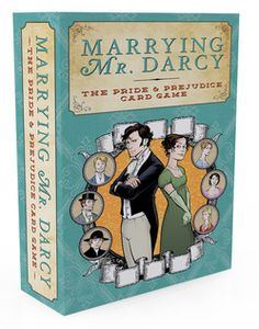 Marrying Mr. Darcy: the Pride and Prejudice Card Game! Sister gift!