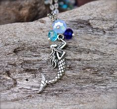 Mermaid Necklace  Mermaid Jewelry from by MermaidTearsDesigns