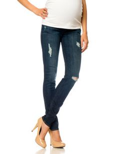 Hudson // A Pea in the Pod // Secret Fit Belly 5 Pocket Skinny Leg Maternity Jeans