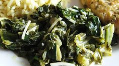 Sauteed Swiss Chard with Parmesan Cheese